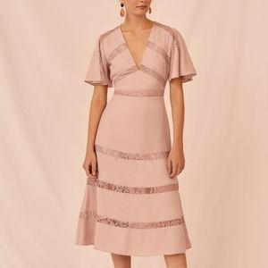 NWT Keepsake Sense Midi Dress Size S
